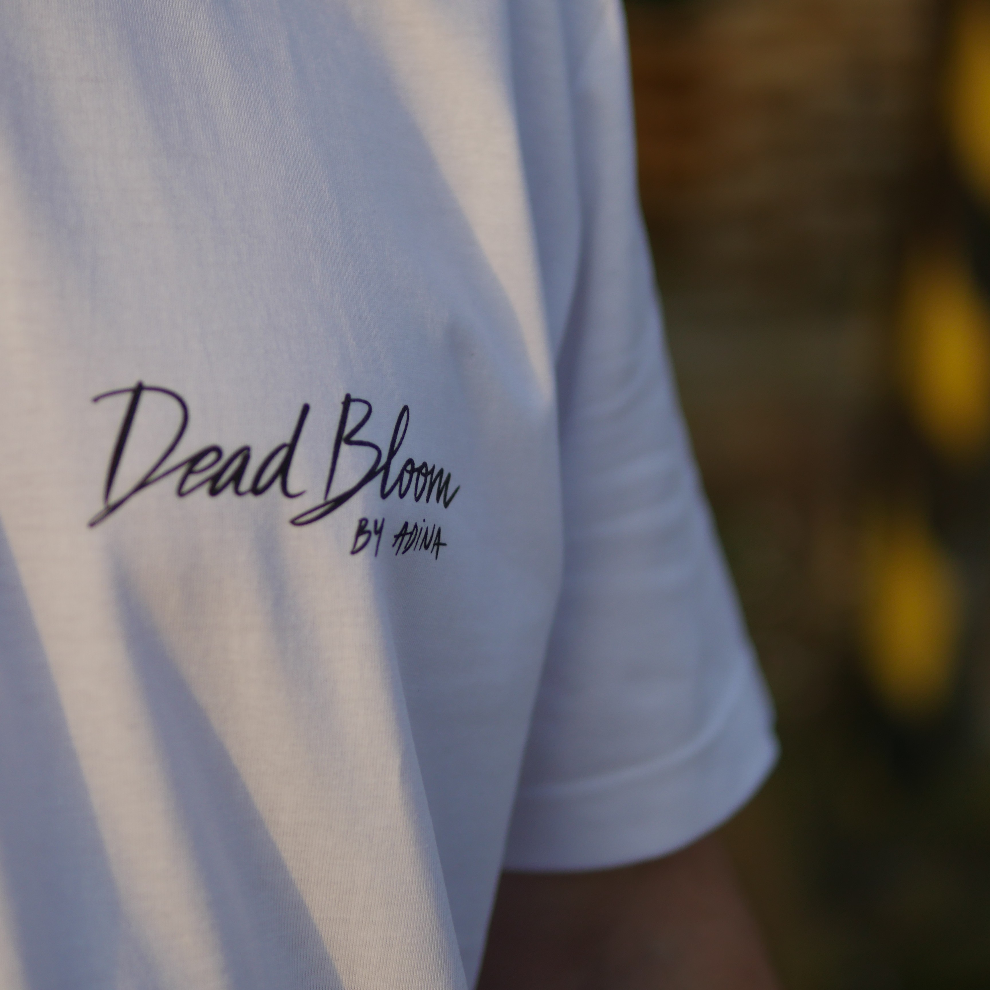 DEADBLOOM BY ADINA T-SHIRT WHITE