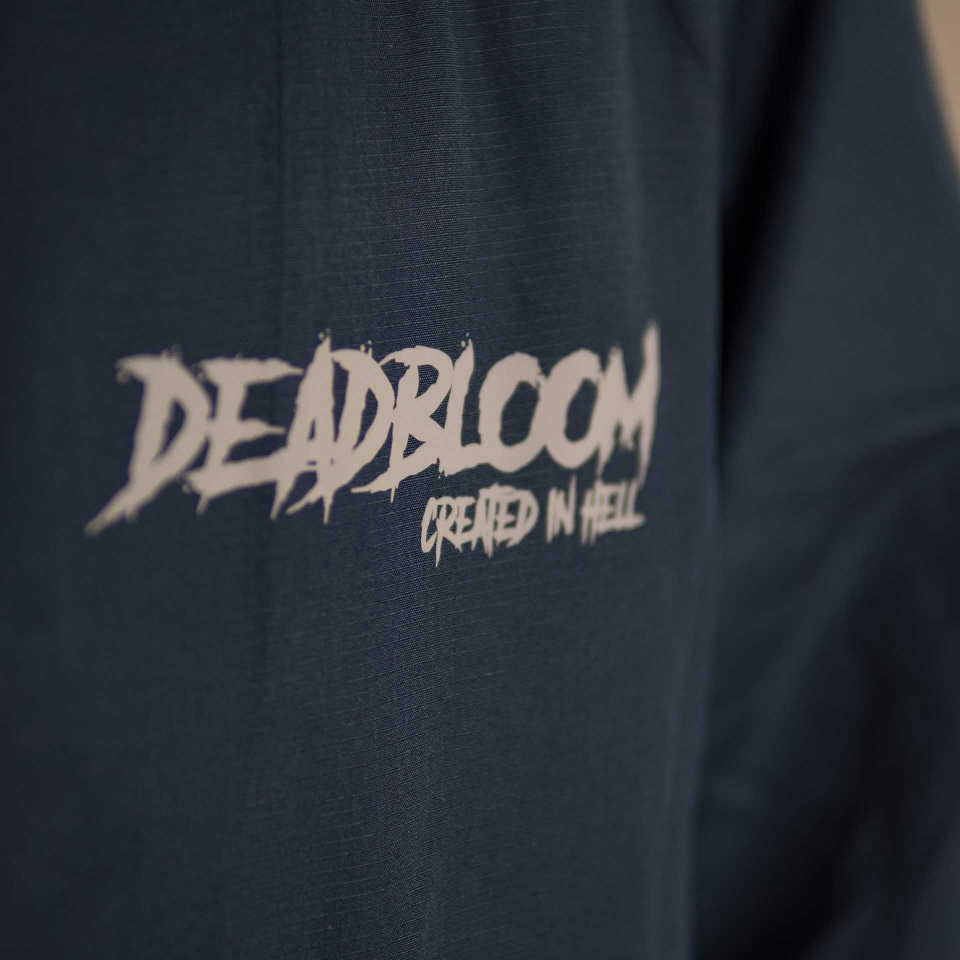 COACH JACKET BLUE  DEADBLOOM X ALBII